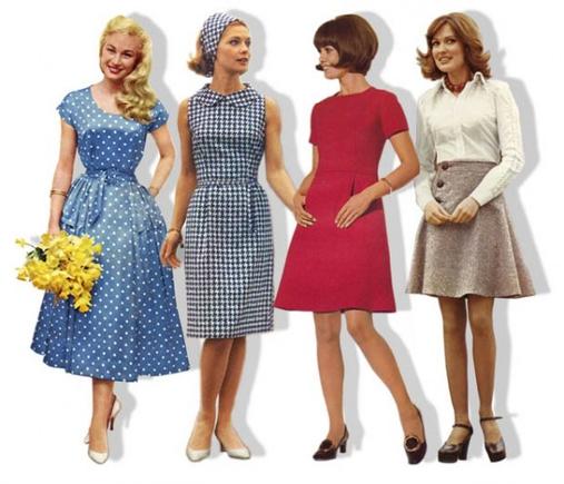 Parādiet 50. un 60. gadu stila kleitas! :)
