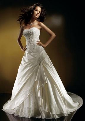Покажите красивое свадебное платье