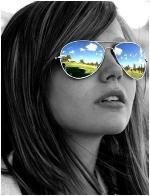 Покажите солнцезащитные очки такого стиля? (вн.)