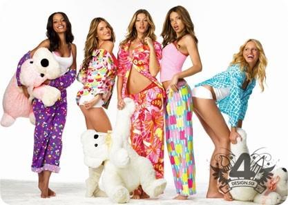Покажите девушку в пижаме?!