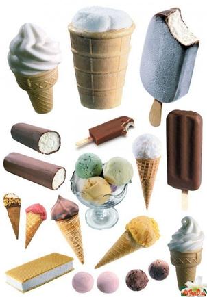 Покажите ваше любимое мороженное?