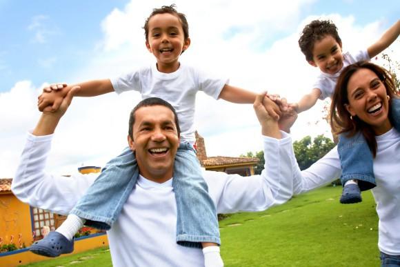 kāda varētu izskatīties ideāla ģimene?