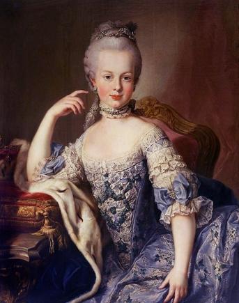 Покидайте пожалуйста официальных портретов Марии Антуанетты?
