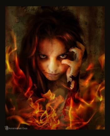 А Вы в гневе страшны или очаровательны? Покажите...