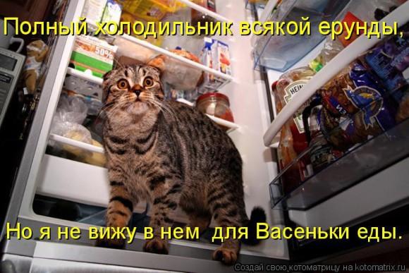 Покажите холодильник после нового года?