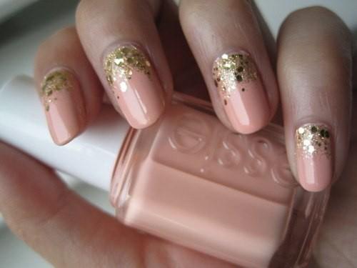красивый дизайн нарощенных ногтей фото: