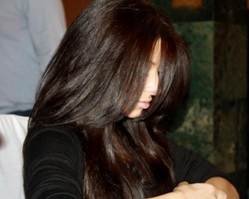 красивые темные оттенки волос фото