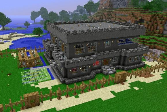 План красивого дома майнкрафт