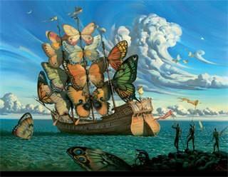 Vai ir kāda slaveno mākslinieku glezna, kura Tev ļoti patīk? ;)