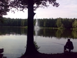 фонтан на лесном озере на Югле ( Сказка )