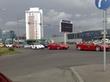 пробка в пурвциемсе: 4x Ferrari,Porsche,Noble,MB SLR McLaren