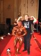 Я и Абсолютный Чемпион Открытого кубка Латвии по Бодибилдингу