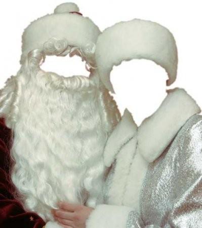 Кто будет Дед Мороз и Снегурка на irc.lv??
