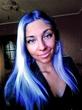 BLUE HAIR ROCKS