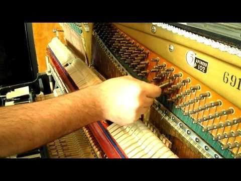 Замена колка в пианино.maxim_tuner Уральские хроники 2011
