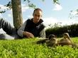 В деревне. Прибавление в семействе - утки :) © Ligo. 06.2011