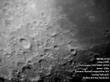 Южное полушарие луны в первой четверти