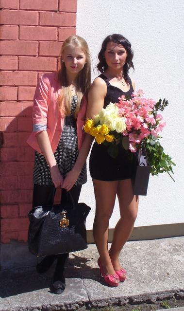 после выпускного))