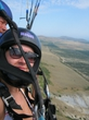 na paraplane,300m nad urovnem morja