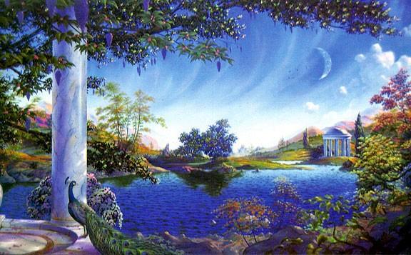 как вы представляете себе рай?