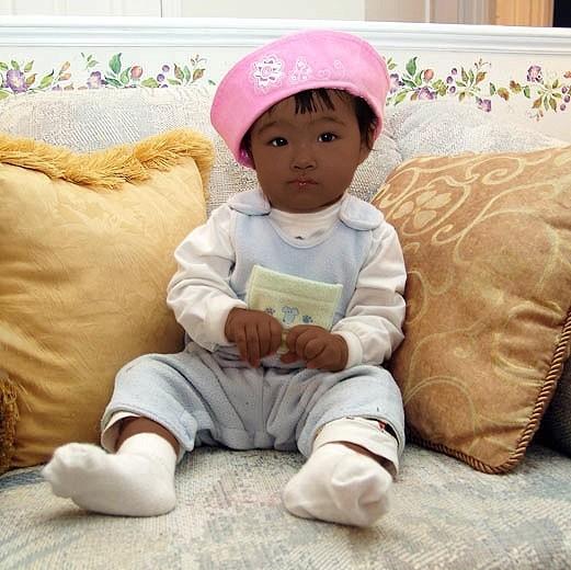 Негр и китаец ребенок