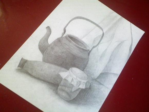 Vari ielikt šeit kādu savu zīmējumu ar parasto zīmuli?