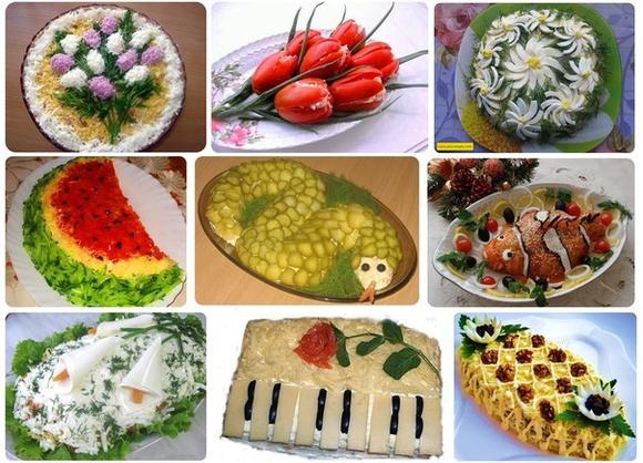 Необычный салат новый год — pic 3