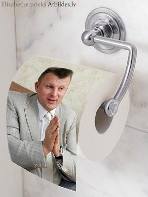 Gribu nopelnīt ar tualetes papīru – kāds nemīlamais politiķis uz tā būtu pats ejošākais?