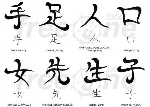 Что обозначают японские тату