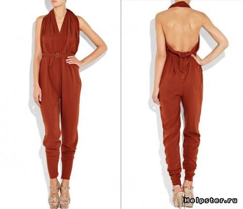 Покажите девушку в прошлом году столь модном комбинезоне, где еще спина из кружева и ножки немного галифе?