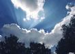 кусочек неба за окном :)