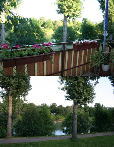Обожаю вид из своего балкона )
