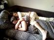 сеструля решила разбудить)))