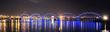 Проезжал ночью по каменному мосту, сделал банальнейший кадр.