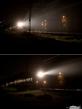 Ночная электричка, мчащаяся летом в Юрмалу...