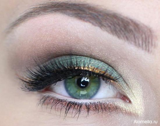 Только зеленые глаза получены не благодаря колдовским дарованиям, а в