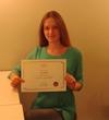 Вот и пришел мой сертификат)