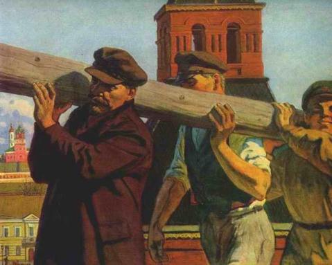 Parādi kaut kādu gleznu zem kategorijas ''Socialistiskais reālisms''?