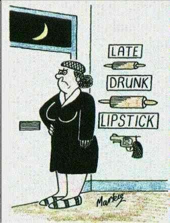 Ar kādām lietām jāapbruņojas sievai, ja mājās atgriežas piedzēries vīrs?