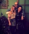 Младшая и дедуля уже в Новом 2014))