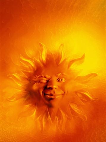 Покажите солнце?