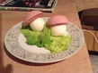 Папа приготовил мне завтрак :3