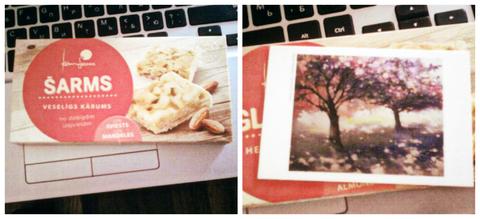 Печенье с подарочком внутри. :)