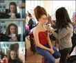 Хах...Тут немного видно как волосы делались :)