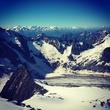 Немного Альп в 7 утра (; (3500м)