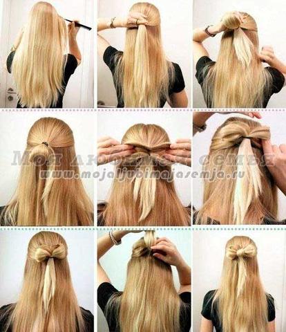 Как красиво заколоть заколкой волосы