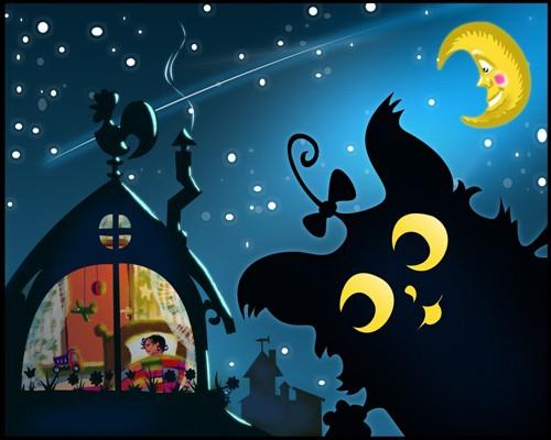 Как выглядит бабайка ночью - 8