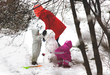 С первым снегом вас друзья!;)