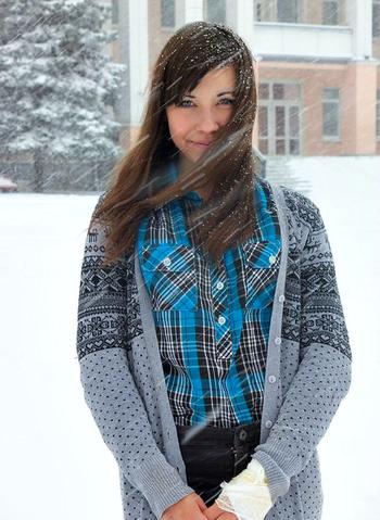 очень много снега *-*