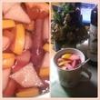 фруктовый чай с корицей и гренадином..омномн